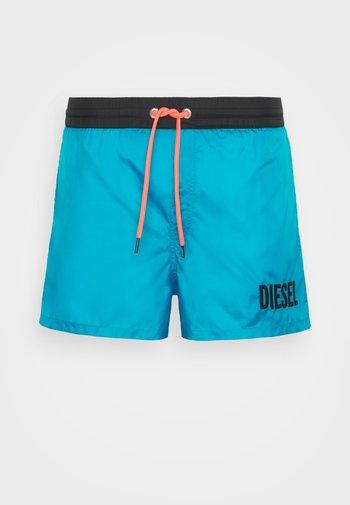 SANDY BOXER - Swimming shorts - turquoise/black