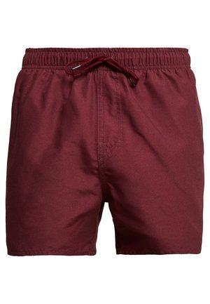 VOLLEY - Shorts da mare - burgundy