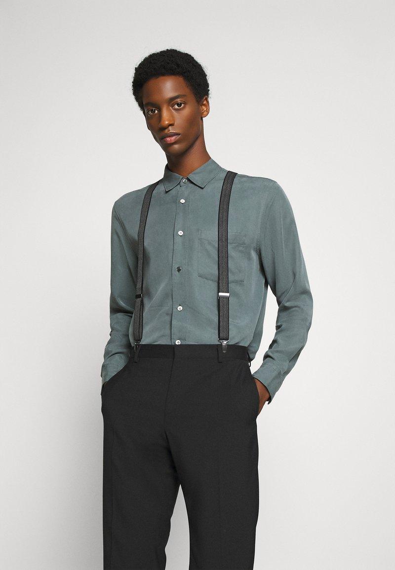 Burton Menswear London - BRACE - Belt - mid grey