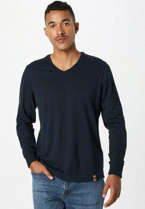 Longsleeve - dunkelblau