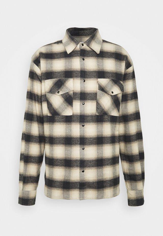 CREED - Overhemd - beige/black