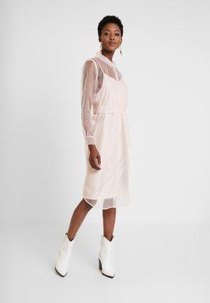 DRESS - Shirt dress - veiled rose