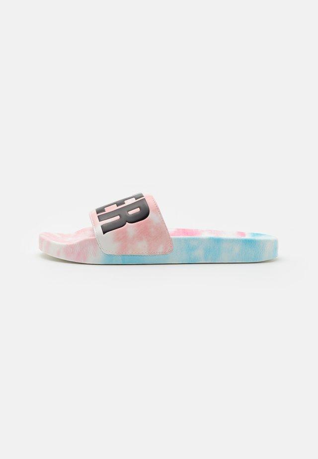 Pantofle - white/multicolor