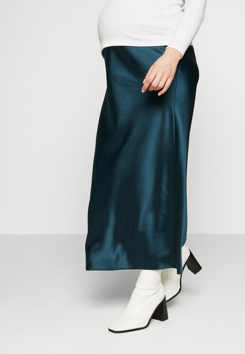 Topshop Maternity - MAXI - Pencil skirt - petrol
