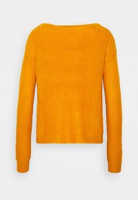 Missguided Petite - OPHELITA OFF SHOULDER - Jumper - mustard - 4