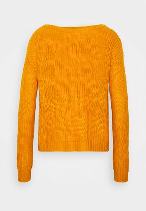 OPHELITA OFF SHOULDER - Maglione - mustard