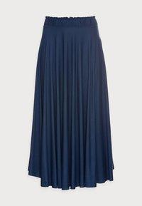 Esprit - SKIRT - A-line skirt - dark blue - 4