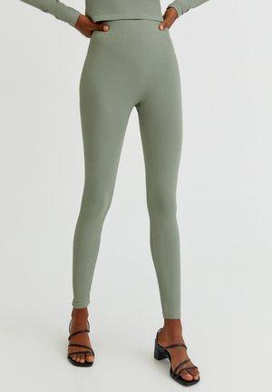 BASIC IM COMFORT-FIT - Leggings - Trousers - dark green