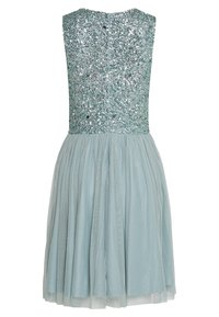 Lace & Beads - PICASSO SKATER - Cocktail dress / Party dress - teal - 1
