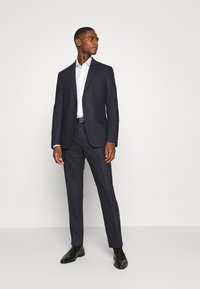 Calvin Klein Tailored - SOFT BLEND STRUCTURE SUIT - Oblek - blue