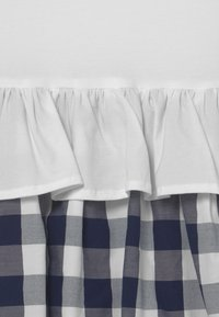 OVS - CHECKED - Korte jurk - bright white - 2