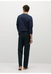 Mango - Pyjama set - bleu marine foncé - 1