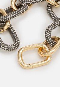 Rebecca Minkoff - CHUNKY PAVE LINK BRACELET - Bracelet - gold-coloured - 1