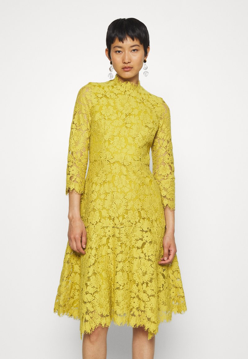 IVY & OAK - DRESS - Cocktail dress / Party dress - mustard yellow