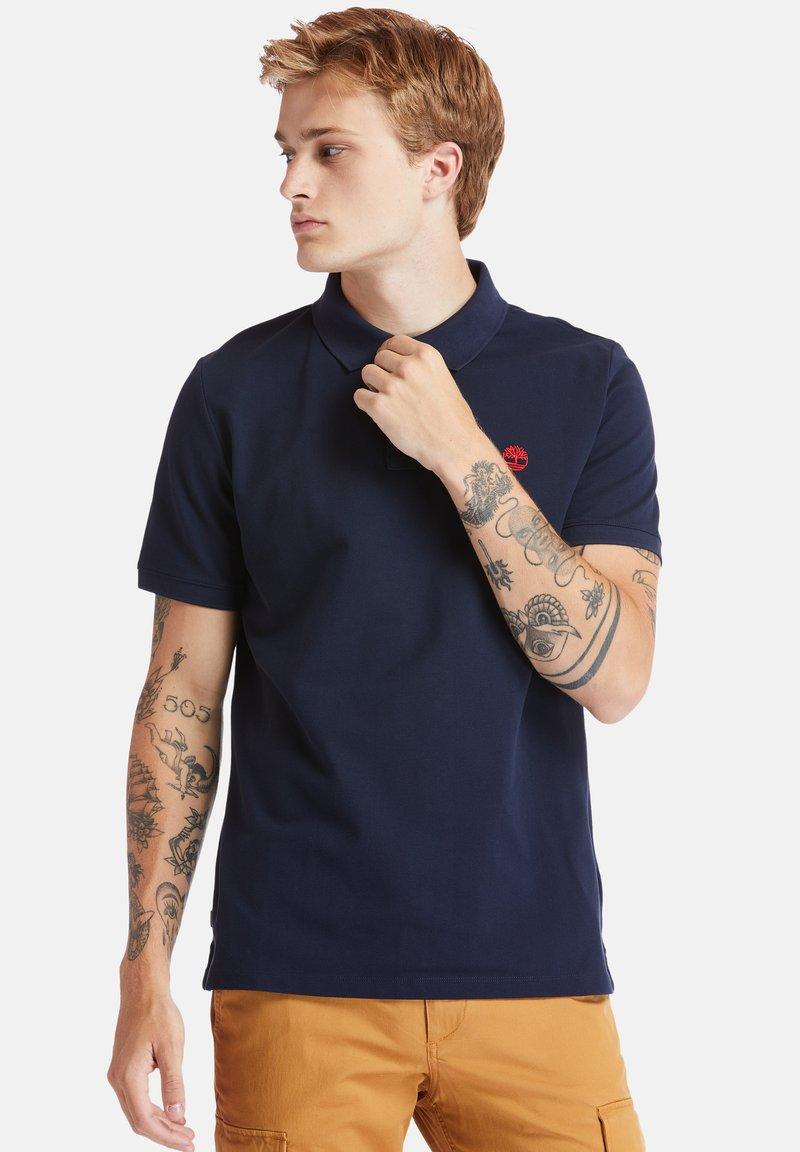 Timberland - MILLERS RIVER - Polo shirt - dark sapphire