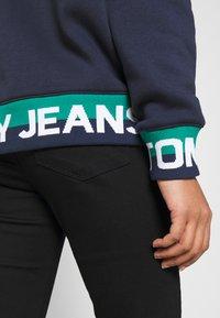 Tommy Jeans - BRANDED HEM HOOD - Sweat à capuche - twilight navy - 3