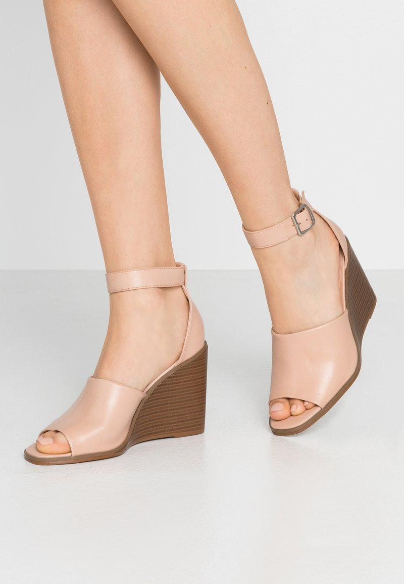 Madden Girl - GARLAND - High heeled sandals - dark nude