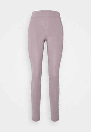 Leggings - Trousers - purple smoke/white