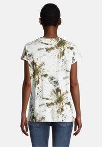 Cartoon - Print T-shirt - white/khaki - 2