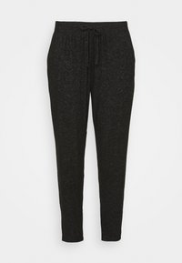 CAPSULE by Simply Be - SOFT TOUCH JOGGER - Tracksuit bottoms - charcoal marl - 4