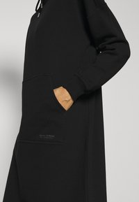 Marc O'Polo - DRESS HOOD - Kjole - black - 5
