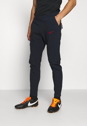 FRANKREICH FFF PANT - Article de supporter - dark obsidian/university red