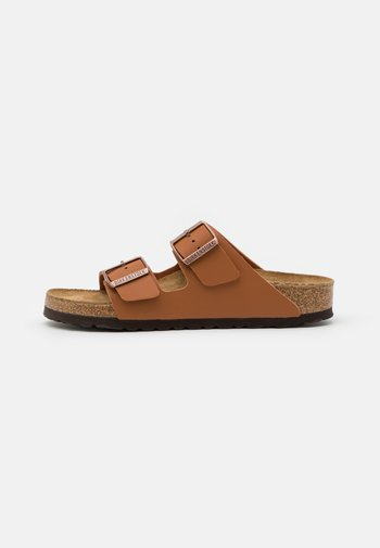 ARIZONA SOFT FOOTBED UNISEX - Domácí obuv - ginger brown