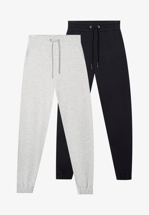 2 PACK - Pantalon de survêtement - black