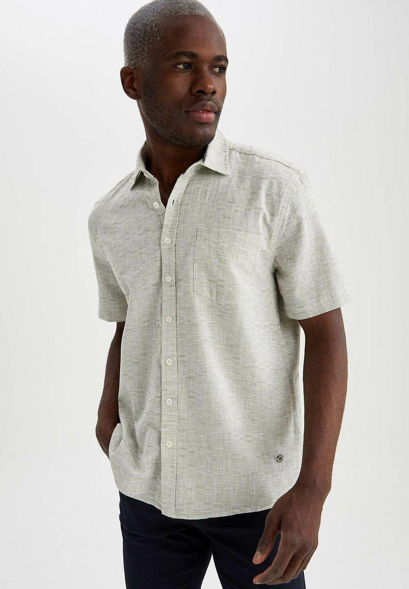 DeFacto - Shirt - turquoise