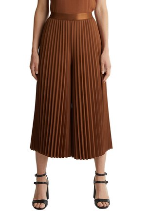 CULOTTE - Trousers - toffee