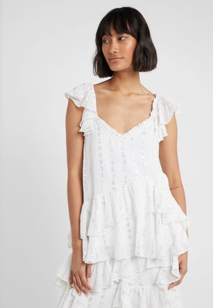 KALILA LOVE CAMI TOP - Bluse - ivory