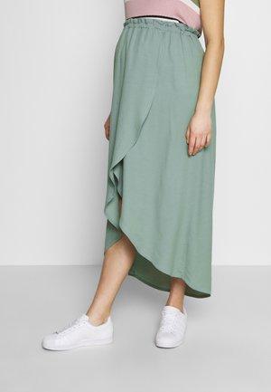 SKIRT SAO PAULO - Maxi skirt - light green