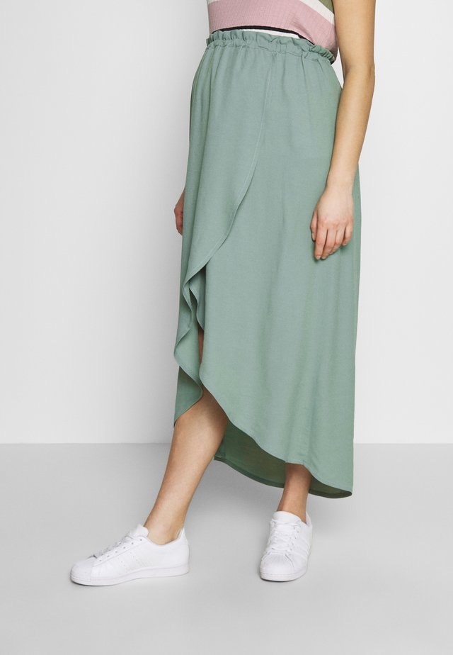 SKIRT SAO PAULO - Maxi skirt - light green