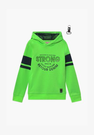 FLIP - Hoodie - neon green