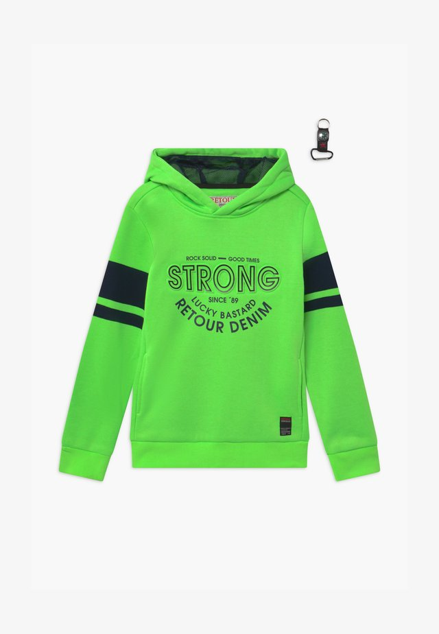FLIP - Sweat à capuche - neon green