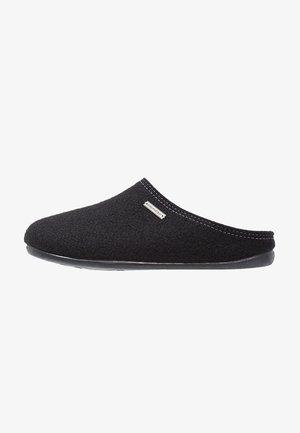 JON - Pantoffels - schwarz