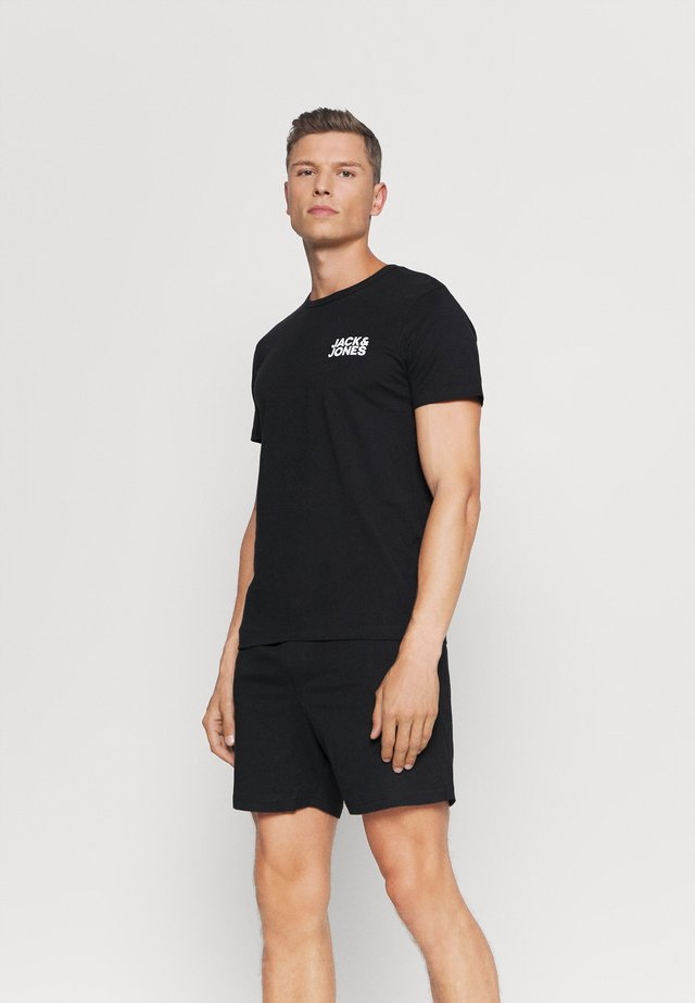 JACLOUNGE SHORT SET - Pyjama - black