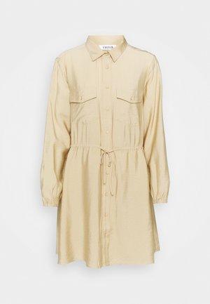 DRESS - Shirt dress - beige