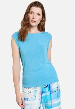 Camiseta básica - blue curacao