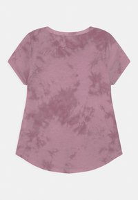 Abercrombie & Fitch - CORE CREW  - Print T-shirt - purple - 1