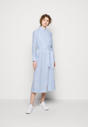 STRIPE - Shirt dress - white/ medium