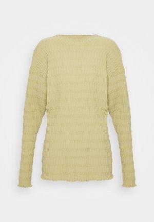 Camiseta de manga larga - beige/green