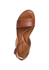 Tamaris - Platform sandals - nut leather - 2
