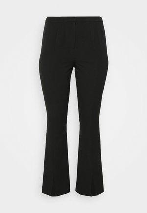 VMIVY SLIT PANT - Broek - black