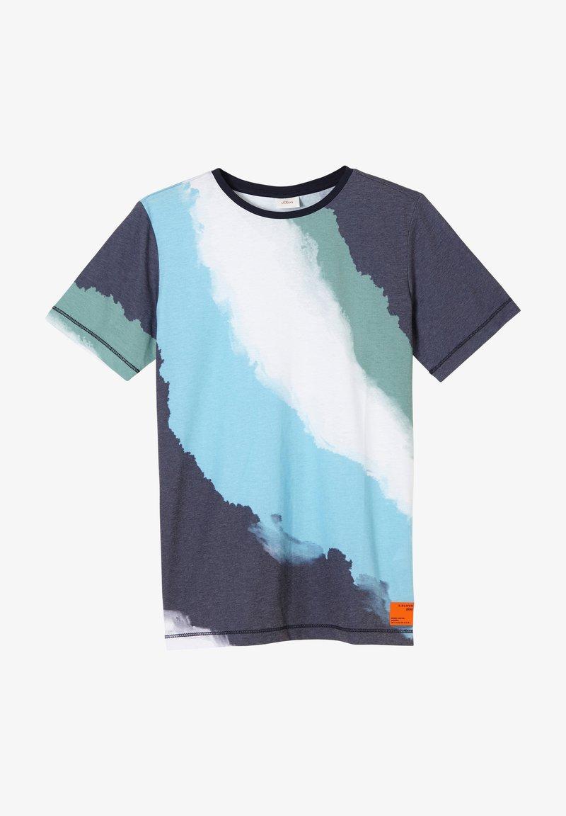 s.Oliver - Print T-shirt - aqua