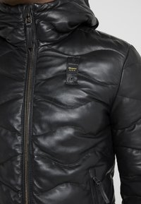 Blauer - Leather jacket - black - 6