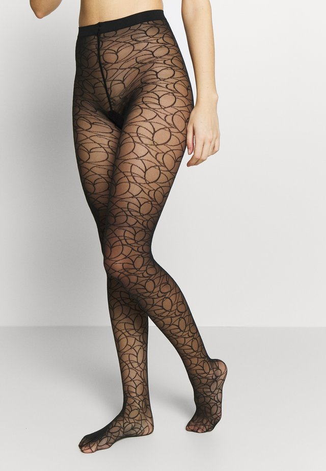 GRAFFITI - Tights - black
