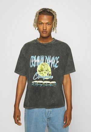 1999 CHAMPIONS  - T-Shirt print - washed black