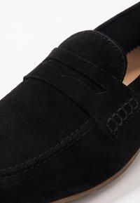Walk London - DANNY PENNY LOAFER - Scarpe senza lacci - black - 5