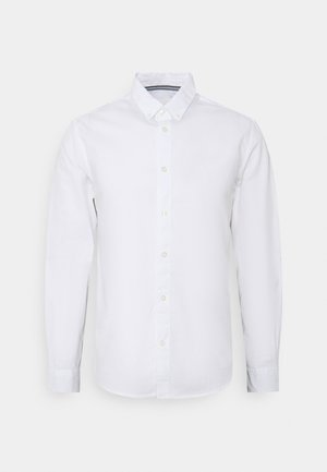 REGULAR SMART SLUB - Shirt - white